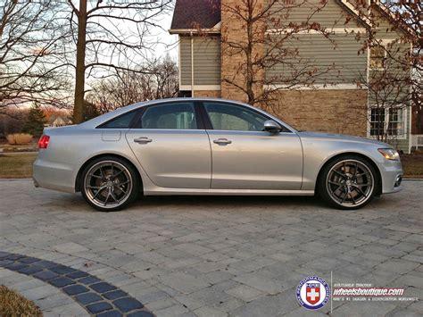 Audi S6 Custom Wheels Hre S101 21x100, Et , Tire Size 265