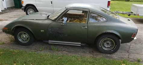 Opel Gt V8 by Bangshift Engine Would You Be Willing To
