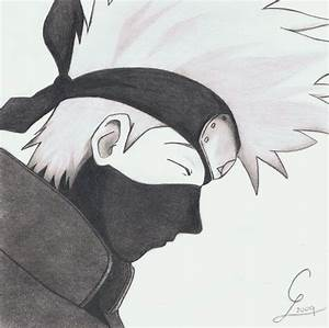 How to draw hatake kakashi