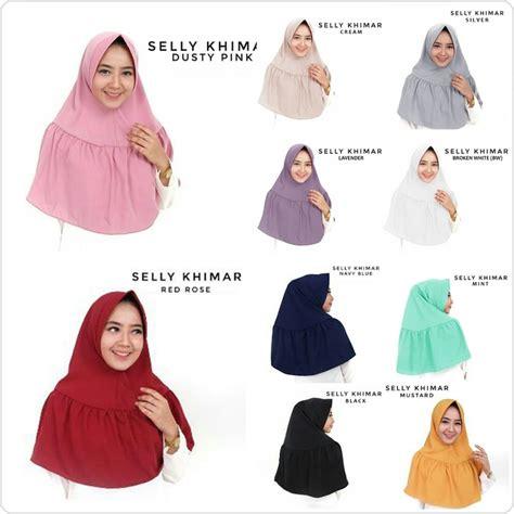 ekonomis hijab jilbab selly khimar kerenwow