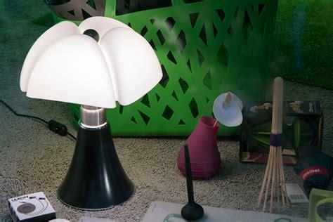 martinelli luce lampada da tavolo minipipistrello rame metallo  metacrilato myareadesignit
