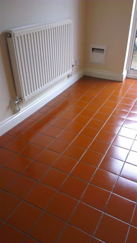Quarry Tile Floor   Northamptonshire Tile Doctor