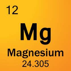magnesium periodic table info magnesium