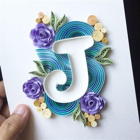 quilling letters ideas  pinterest letter p