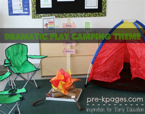 camping projects for preschoolers camping dramatic play theme 244
