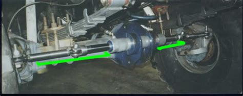 unimog axle conversionrear springs inboarded rear