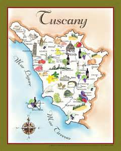 wedding boxes the bounty of tuscany food map