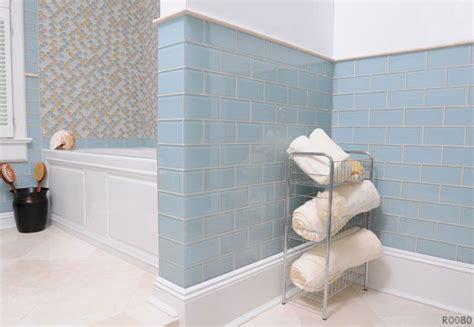 Akdo Glass Subway Tile by Akdo Tiles Transitional Wall And Floor Tile San