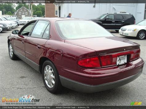 Buick Regal Gse by 2000 Buick Regal Gse Bordeaux Medium Gray Photo 8