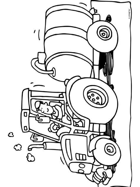 Kleur een leuke kleurplaat van een verjaardagstaart of een feestpartijtje. 45 besten Kleurplaten tractor Bilder auf Pinterest ...