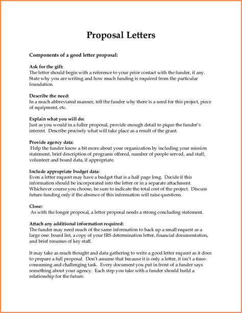 trucking business proposal letter project proposal