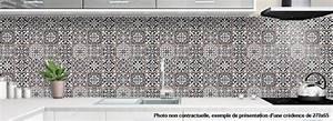 Carreaux De Ciment Credence : credence a coller pour cuisine vieux carreaux de ciment ~ Dailycaller-alerts.com Idées de Décoration