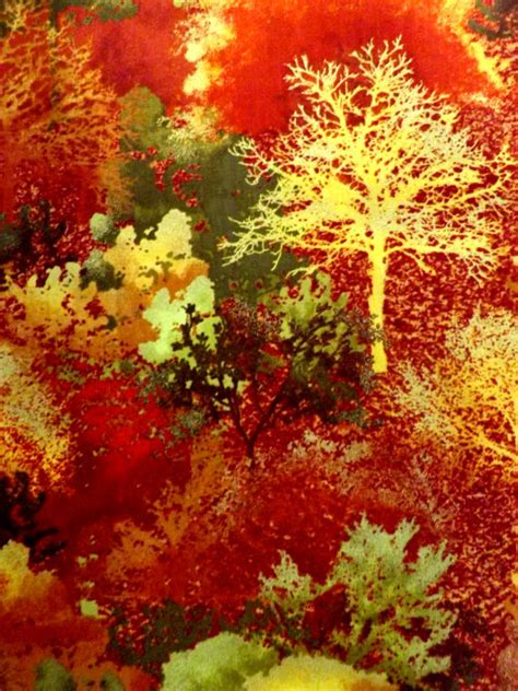 fabric autumn leaves forest cotton quilt trees gold metallic fall yard fabrics collections auntiechrisquiltfabric