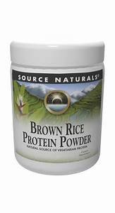 Buy Brown Rice Protein Powder 32 Oz From Source Naturals And Save Big At Vitanetonline Com