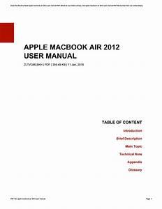 Macbook Air User Guide Pdf  U0026gt  Rumahhijabaqila Com