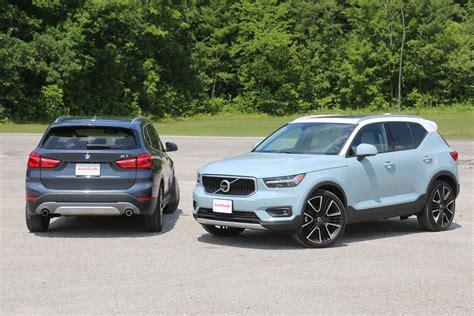 Vs Bmw by 2019 Volvo Xc40 Vs 2018 Bmw X1 Autoguide
