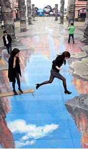 3d Street Art - Simply Love ♥   Info Planet