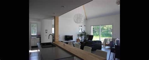 atelier de la cuisine maison contemporaine economique avec mezzanine à toulouse