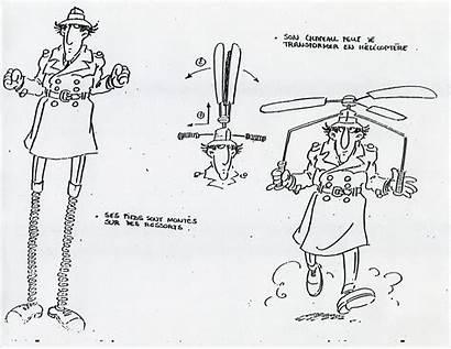 Gadget Inspector Gadgets Sheets Sheet Cartoon Character