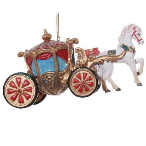 christmas decoration cinderellas carriage  cm