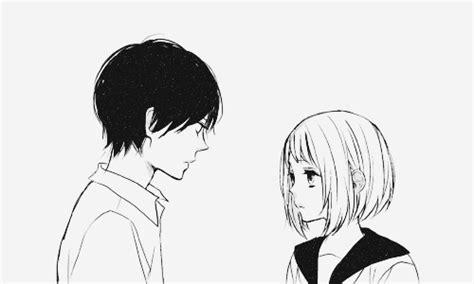 Anime Kiss Gif Cute Anime Cute Couple Tumblr