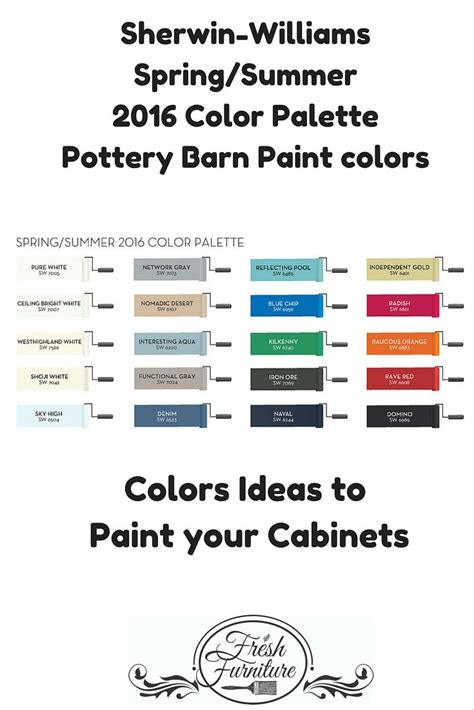 pottery barn paint colors great colors to paint cabinets