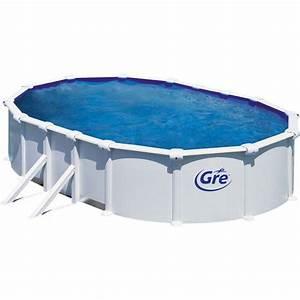 Liner Piscine Hors Sol Ovale : piscine hors sol atlantis gre 610x375 h132 filtre sable ~ Dode.kayakingforconservation.com Idées de Décoration
