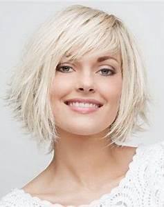 Coupe De Cheveux Femme Visage Rond Cheveux Epais : coupe de cheveux mi long pour visage rond ~ Nature-et-papiers.com Idées de Décoration