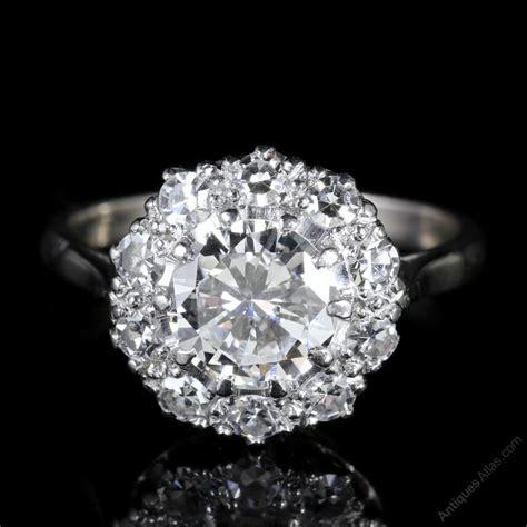 antiques atlas antique edwardian diamond cluster ring