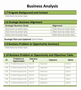 20 analysis templates sample templates With business plan cost analysis template