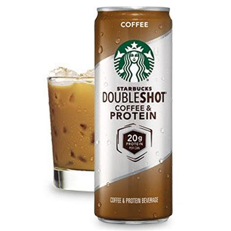 View the online menu of doubleshot coffee company and other restaurants in tulsa, oklahoma. Starbucks Double Shot Protein Coffee 11 Oz Cans - Pack of ...
