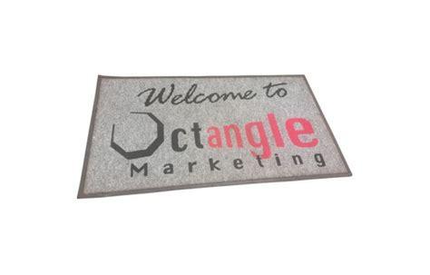 Logo Doormat by Logo Door Mats Octangle Marketing