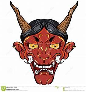 Tatouage Japonais Bras : tatouage japonais de masque de d mon pour le bras le ~ Melissatoandfro.com Idées de Décoration