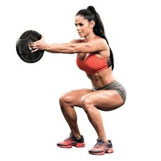 properly execute  plate squat muscle fitness