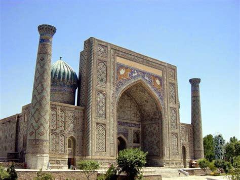 tourisme en ouzbekistan samarcande une de  villes qu