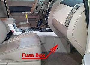 Fuse Box Diagram Mercury Mariner  2008