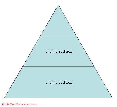 bet microsoft powerpoint diagrams pyramid diagrams