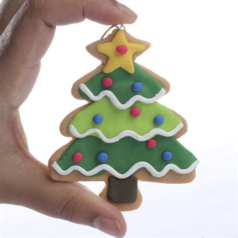 christmas tree clay ornament christmas ornaments