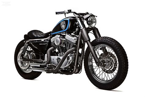 Custom Harley Sportster Stellalpina By Roberto Rossi