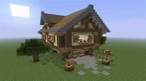 simple house design  minecraft  description youtube