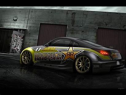 350z Nissan Rockstar Wallpapers Tuning Graphics Hugosilva