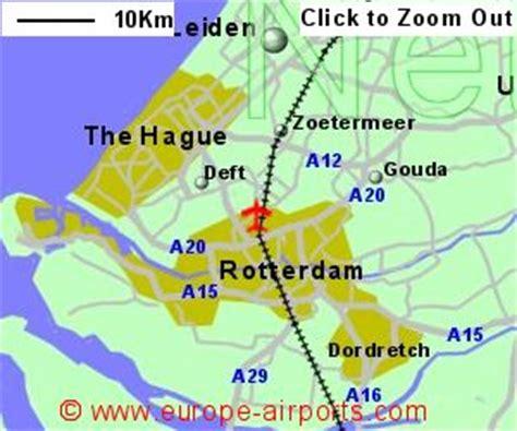 rotterdam  hague airport netherlands rtm guide