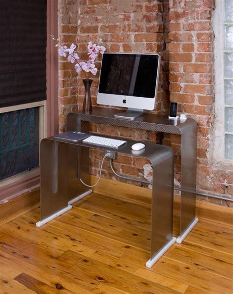 bureau pour imac 27 onelessdesk un bureau pratique et design hype
