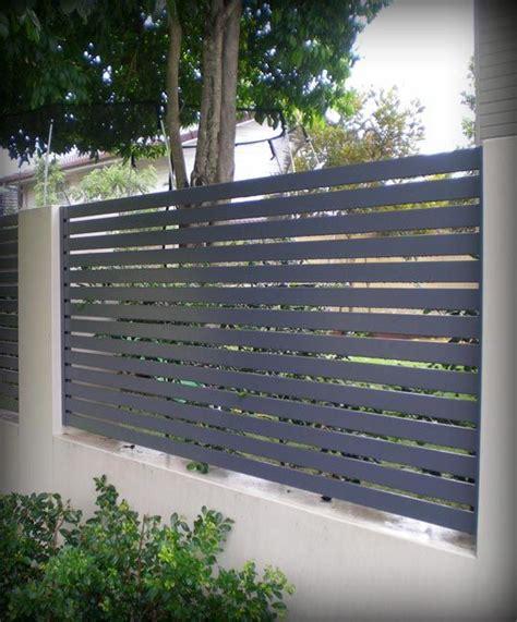 fencing ezi slat aluminium fencing slat fence stratco home design pinterest decks