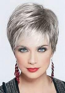 Coupe Courte Femme Cheveux Gris : coupe cheveux courts gris coiffure pinterest cheveux ~ Melissatoandfro.com Idées de Décoration