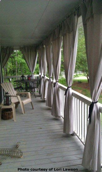drop cloth patio curtains brilliant yard and garden