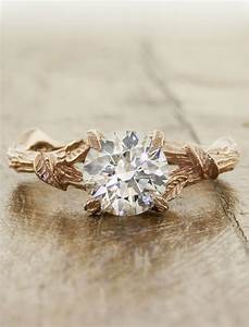 adelia nature inspired diamond engagement ring ken With nature inspired wedding rings