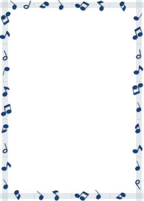 musical borders  borders clipart  border