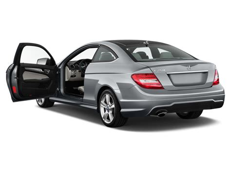 Driver seat, door mirrors, steering wheel and head restraints. Image: 2012 Mercedes-Benz C Class 2-door Coupe 1.8L RWD Open Doors, size: 1024 x 768, type: gif ...