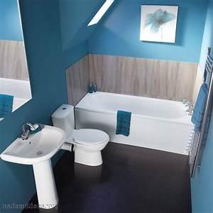 Peinture Sol Salle De Bain : id e couleur peinture pour salle de bain 20170927124415 ~ Dailycaller-alerts.com Idées de Décoration